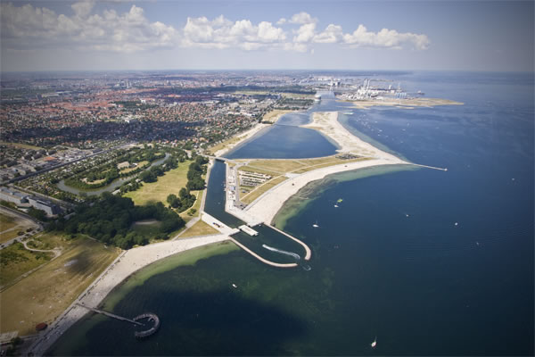 Amager Strand From The Air Calbo Dk
